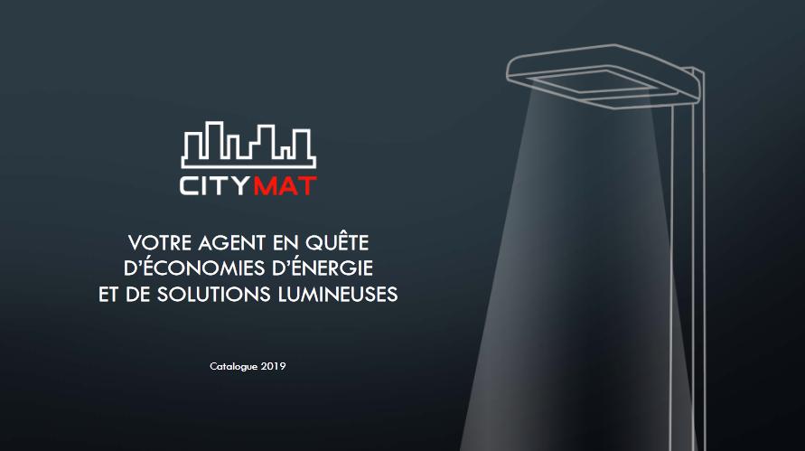 Nouveau catalogue CITYMAT 2019